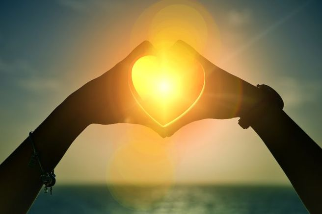 What is your heart's desire? Shine a light on it and see!